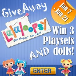 Lalaloopsy! Cutest Giveaway Ever! ends 1/21 - Mom Does Reviews on