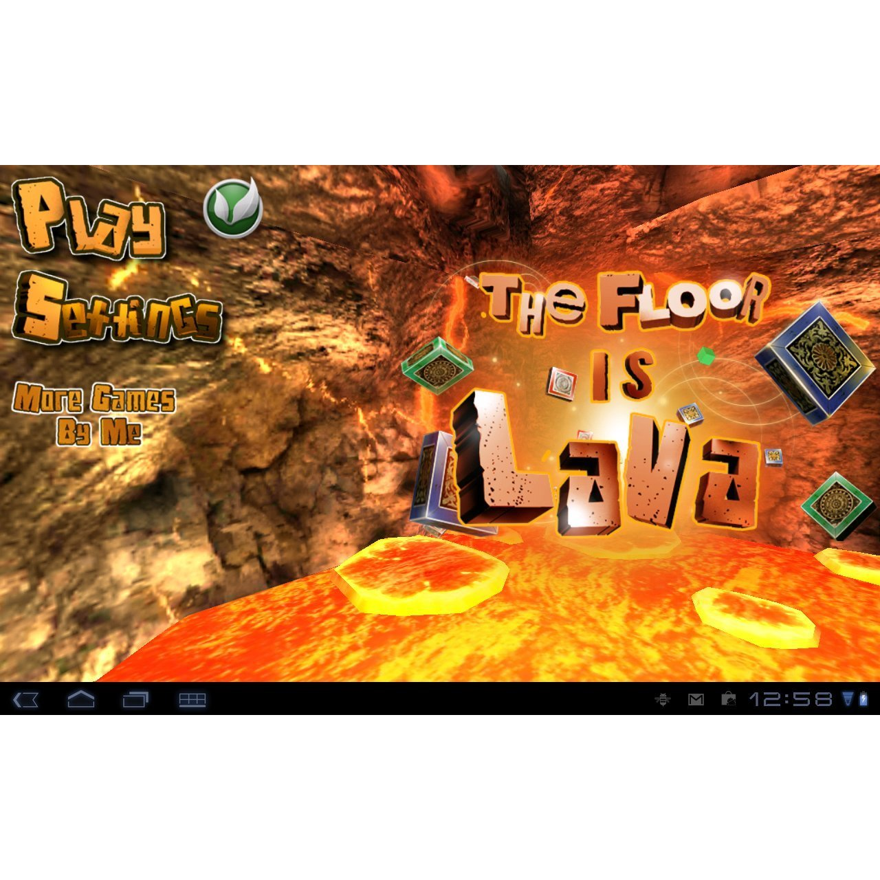 The floor is lava free amazon app of the day for Lava parquet