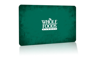No, Whole Foods Market gift cards must be used solely for the purchase of merchandise or services provided by Whole Foods Market. Cards cannot to redeemed for cash except where required by law. Where can the gift cards be redeemed or reloaded? Whole Foods Market gift cards can be redeemed at stores in the U.S. and Canada.