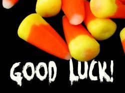good luck candy-corn