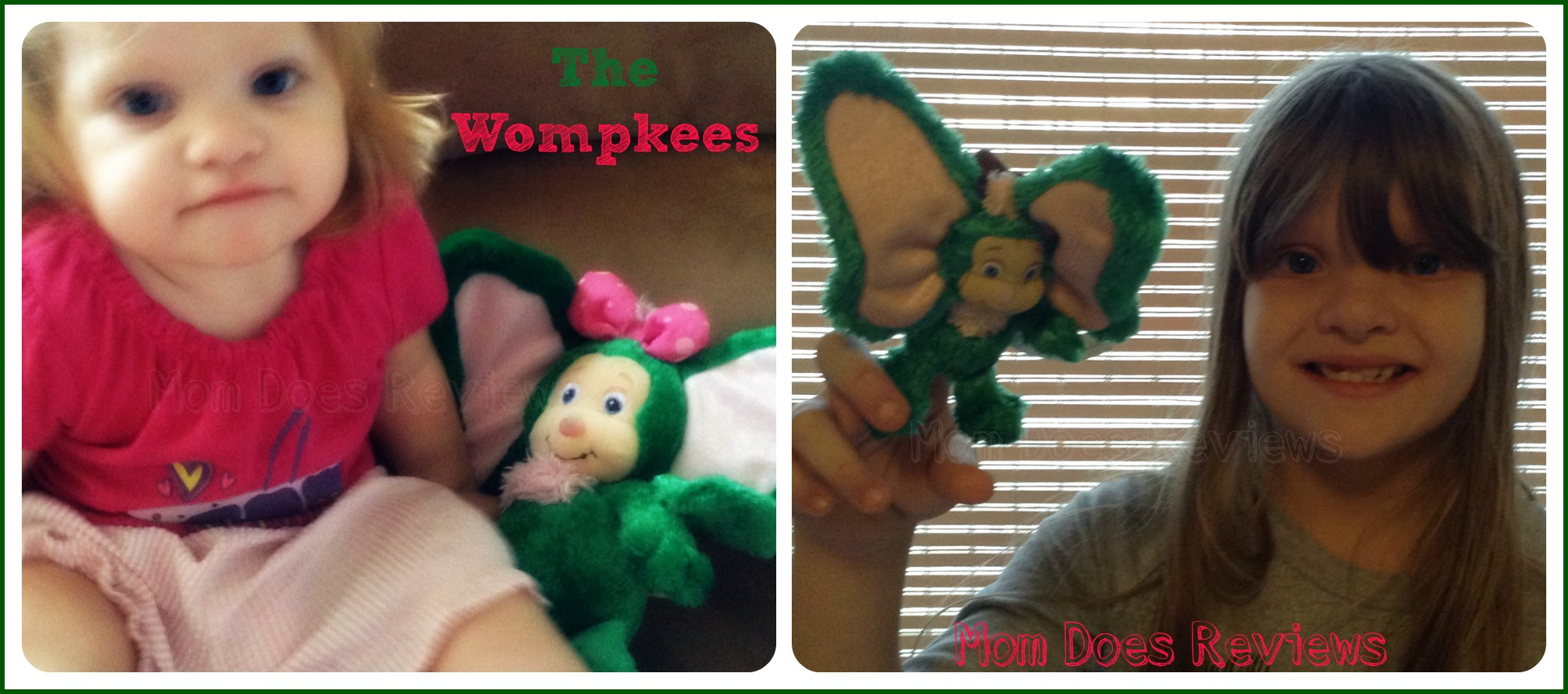 The Wompkees Plush and Finger Puppets