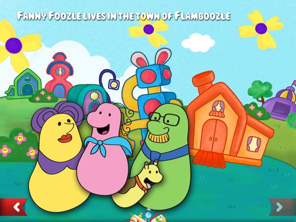 Fanny Foozle Interactive Storybook
