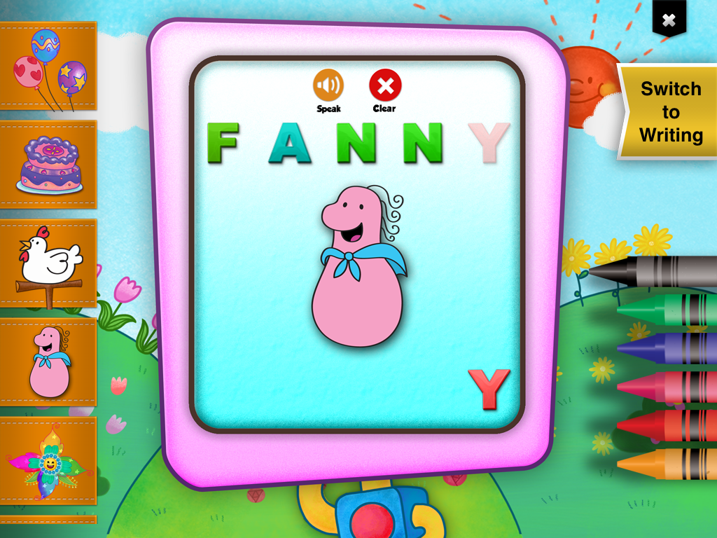 Fanny Foozle Learning App