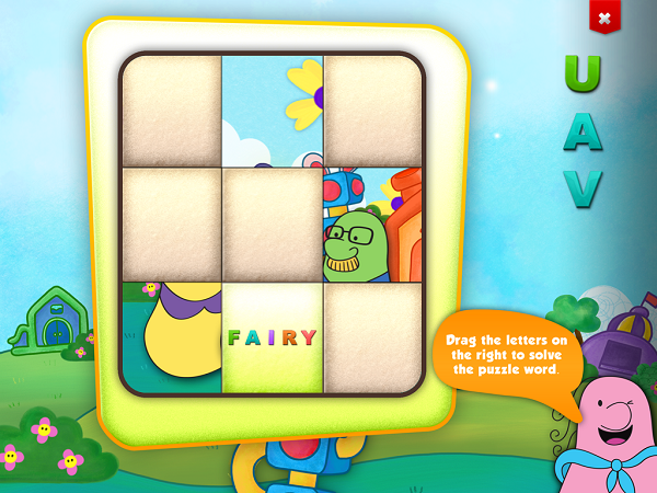 Fanny Foozle Learning App Available at the iTunes Store