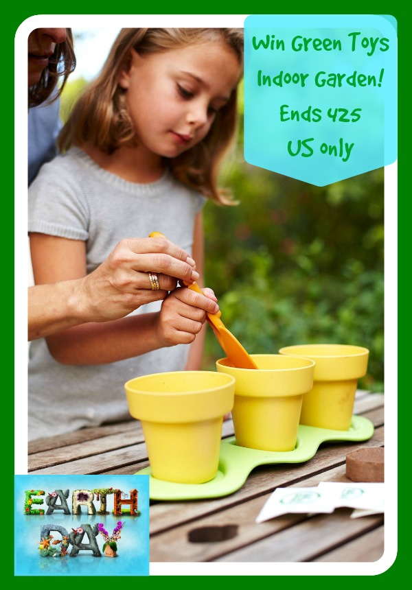 Earthday giveaway win green toys indoor gardening kit us only green toys garden button workwithnaturefo