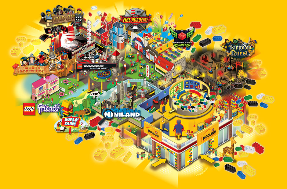 Legoland Discovery Center 4 Ticket Giveaway Grand