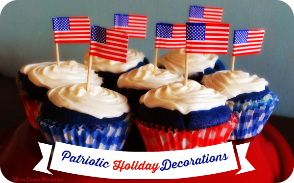 Patriotic Holiday Decorations #4thofJuly #IndependenceDay