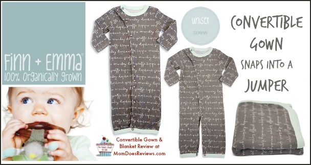 Finn + Emma Review at MomDoesReviews.com   100% GOTS Certified Organic Cotton Baby Clothing and Accessories   #MomDoesReviews
