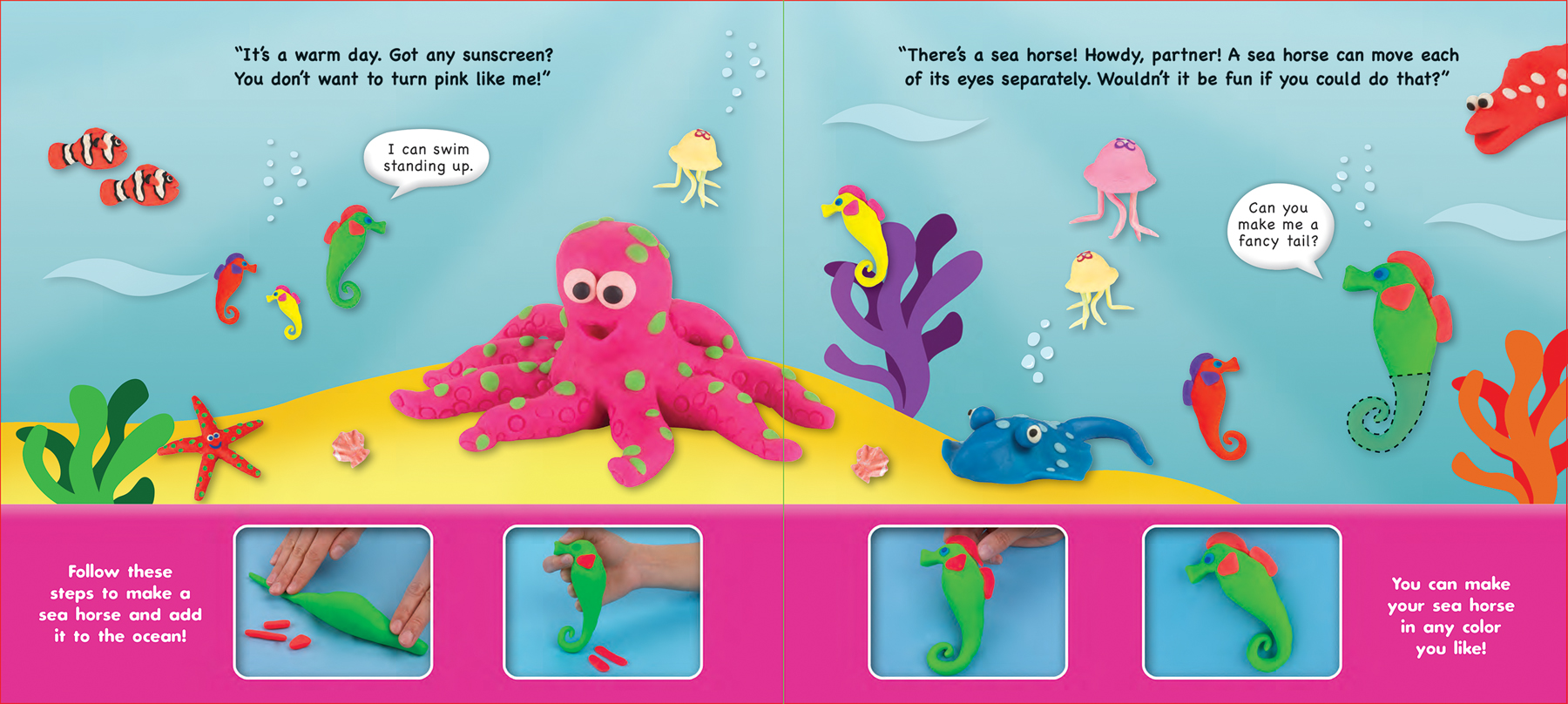 Play-Doh Under the Sea Hands On Learning Book from Silver Dolphin Books | Play-Doh Learning Book Review from Mom Does Reviews | #MomDoesReviews | MomDoesReviews.com