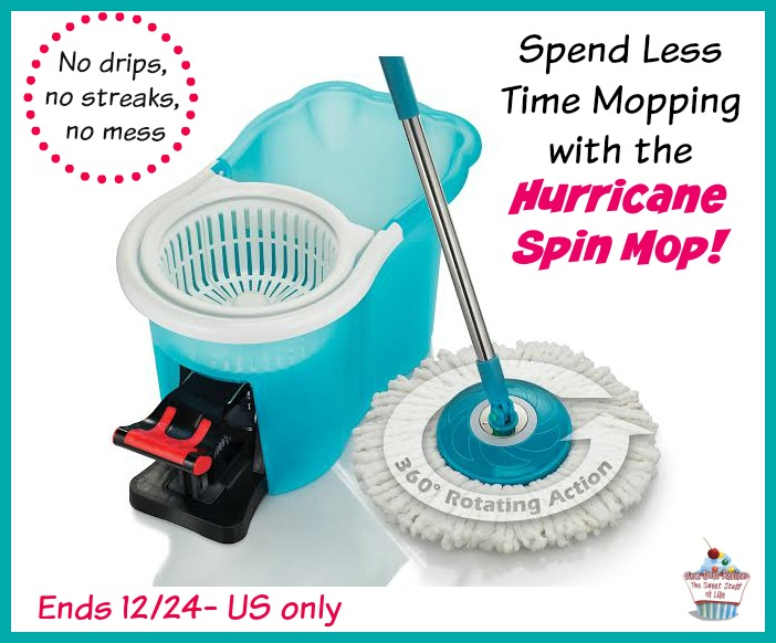 Win A Hurricane Spin Mop Ends 12 24 And Enter The