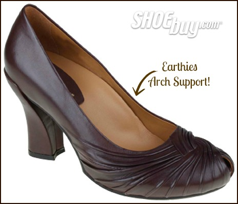 Earthies Shoes provide arch support your feet needs!  Available at ShoeBuy.com #MomDoesReviews