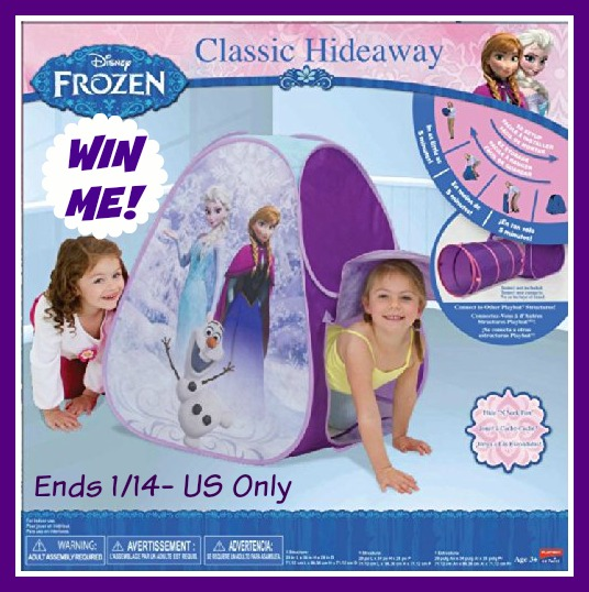 frozen hideaway tent giveaway  sc 1 st  MomDoesReviews & Win a FROZEN Hideaway Tent! US only ends 1/14 -