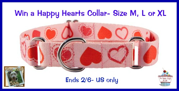 heart collar vday giveaway new