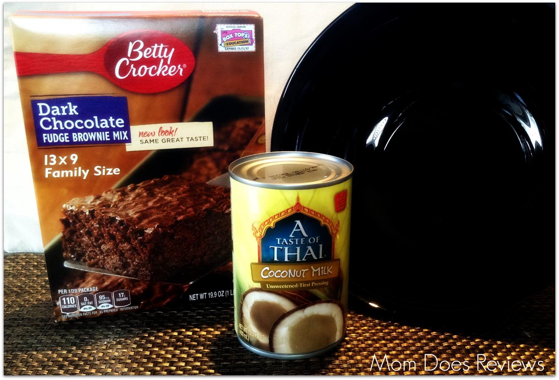 Vegan Brownies From a Box Mix