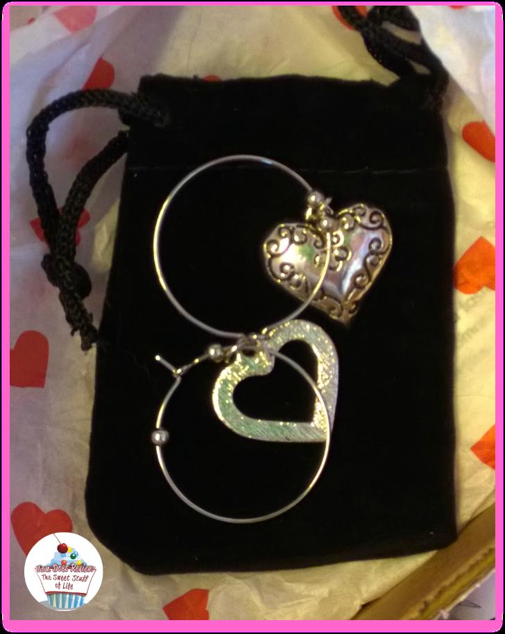 cate chloe heart earrings