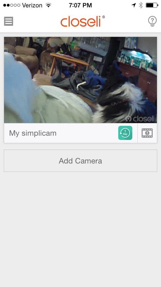 simplicam app