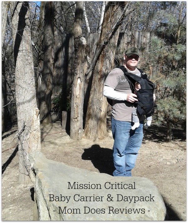 Mission Critical Baby Carrier & Daypack #Review