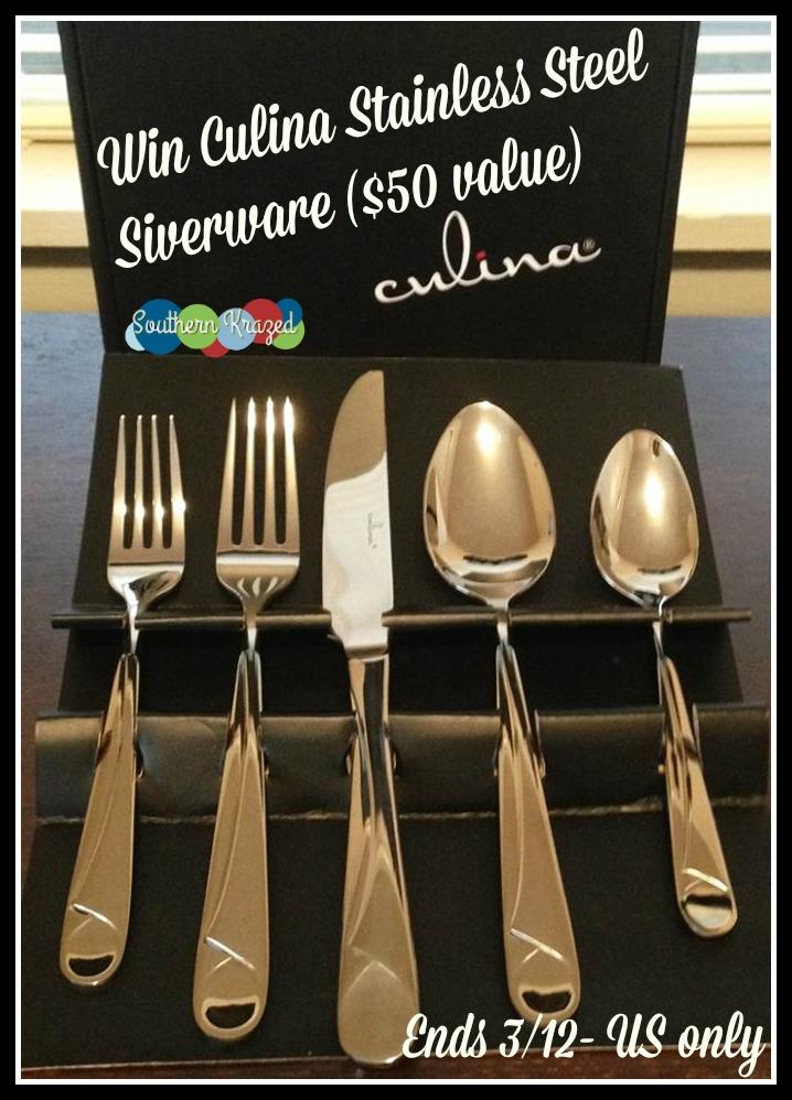 culina flatware giveaway