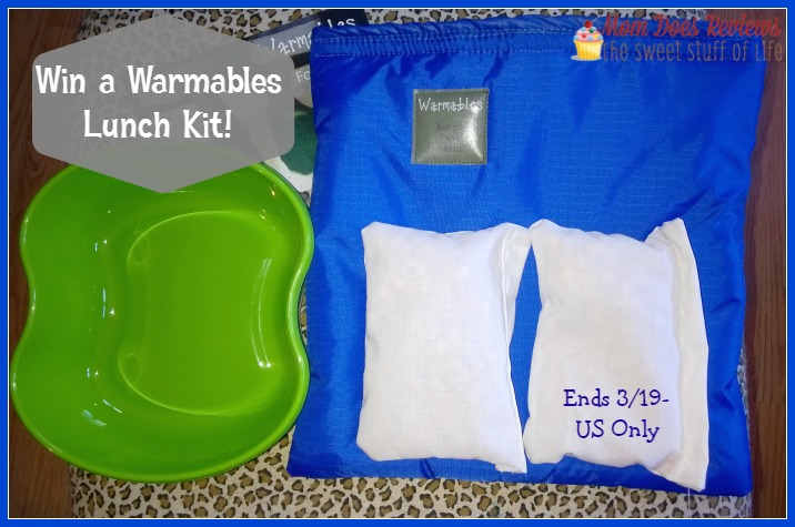 warmables lunch kit giveaway