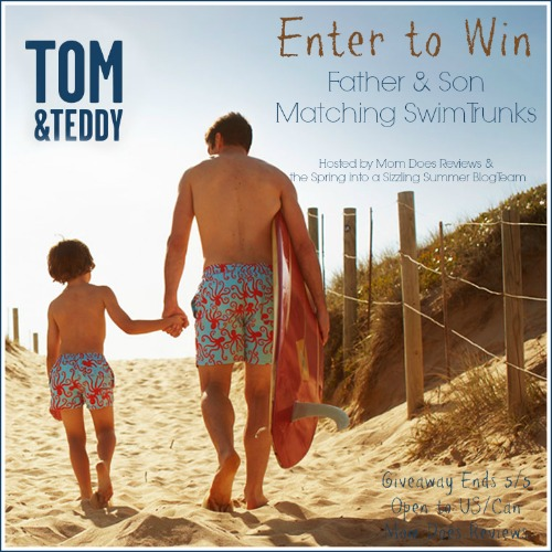 Win Tom Amp Teddy Matching Father Amp Son Swim Trunks Us