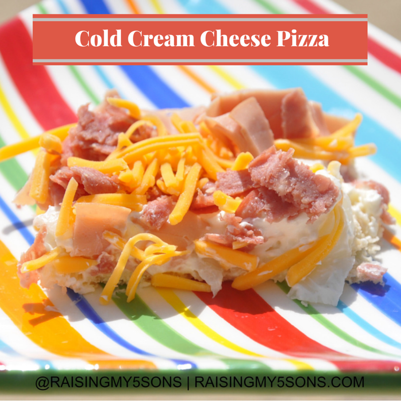 Cold Cream Cheese Pizza Pie for #12Daysof BBQ & Picnic Ideas