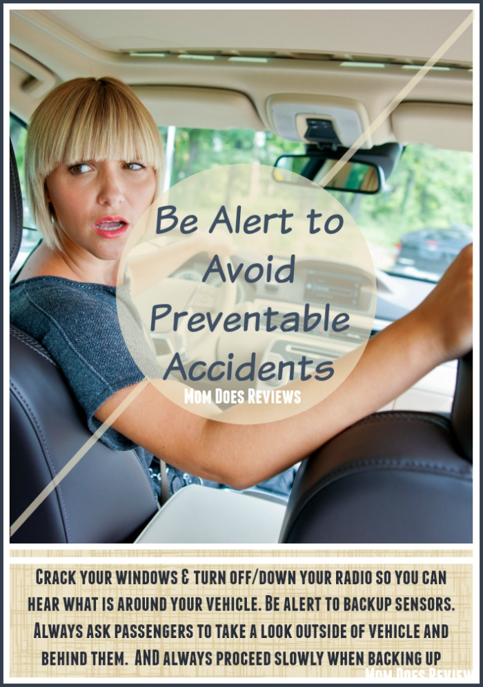 Be Alert to Avoid Preventable Accidents when Backing Up!