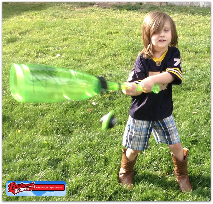 Backyard Sports Baseball Sonic Boom Bat #Review At #MomDoesReviews  #SizzlingSummer