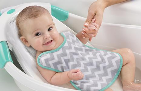 Warming Waterfall Baby Bath