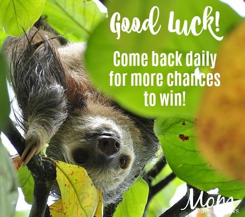good luck sloth