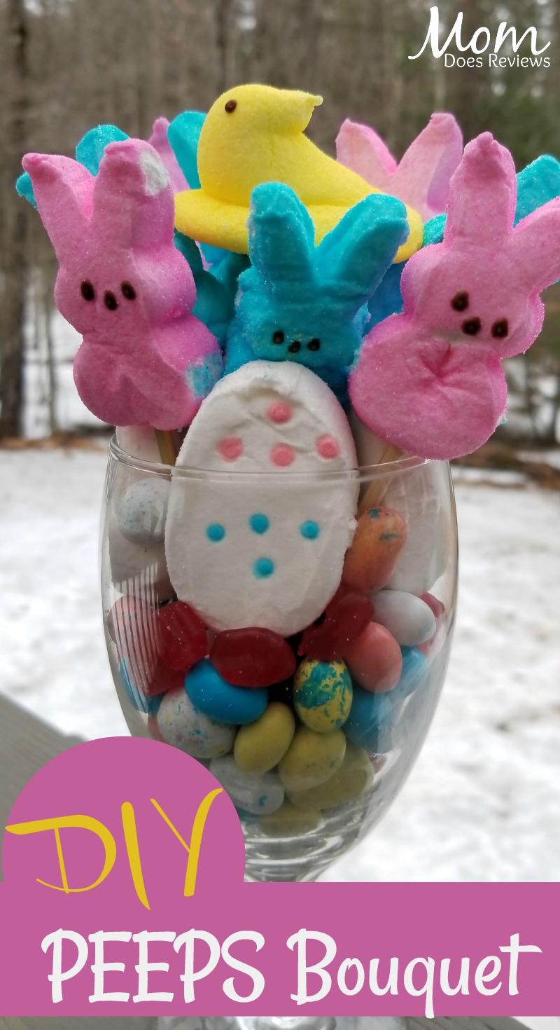 DIY Easter PEEPS Bouquet #EasterSweetsandTreats