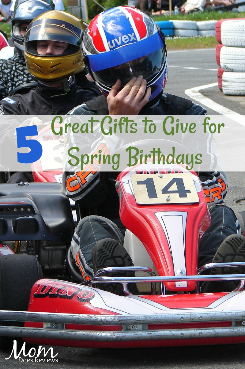5 Great Gifts to Give for Spring Birthdays