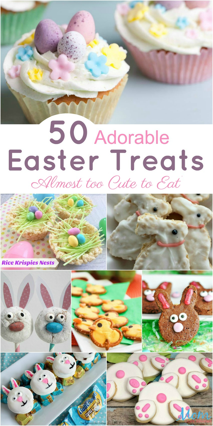 50 Adorable Easter Treats that are Almost to Cute to Eat banner