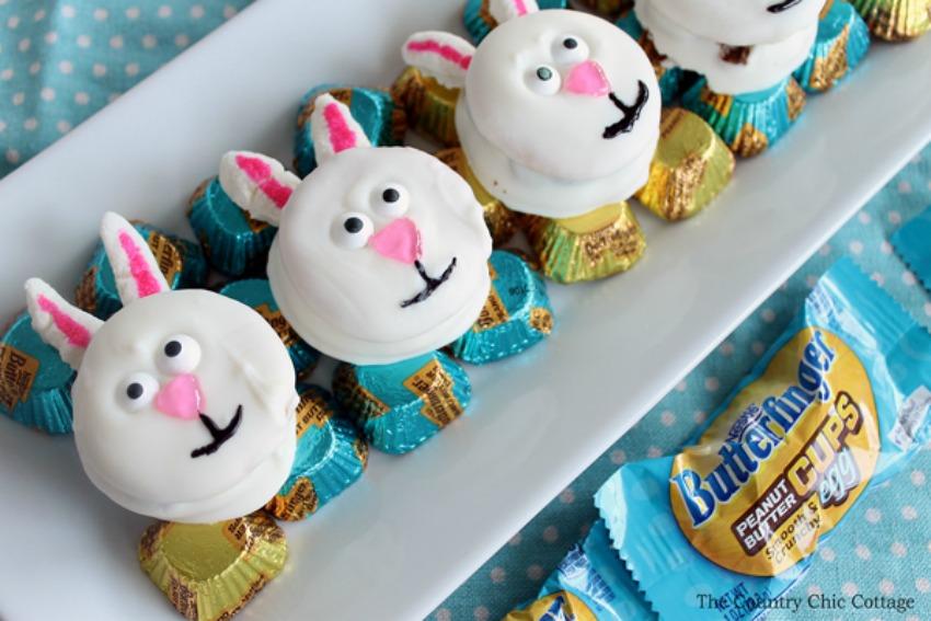 Easter Bunny Cookies – No Bake Dessert