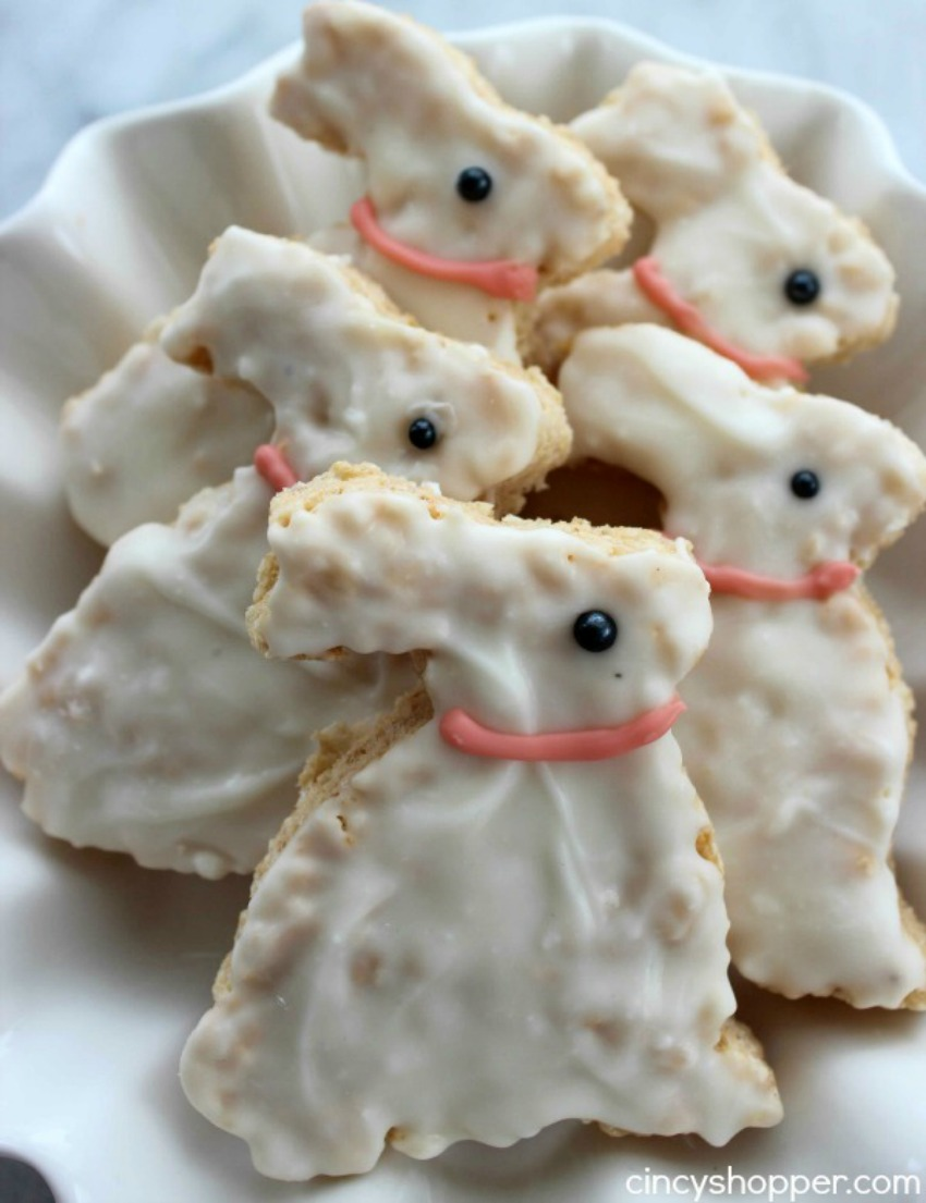 Easter Bunny Krispie Treats