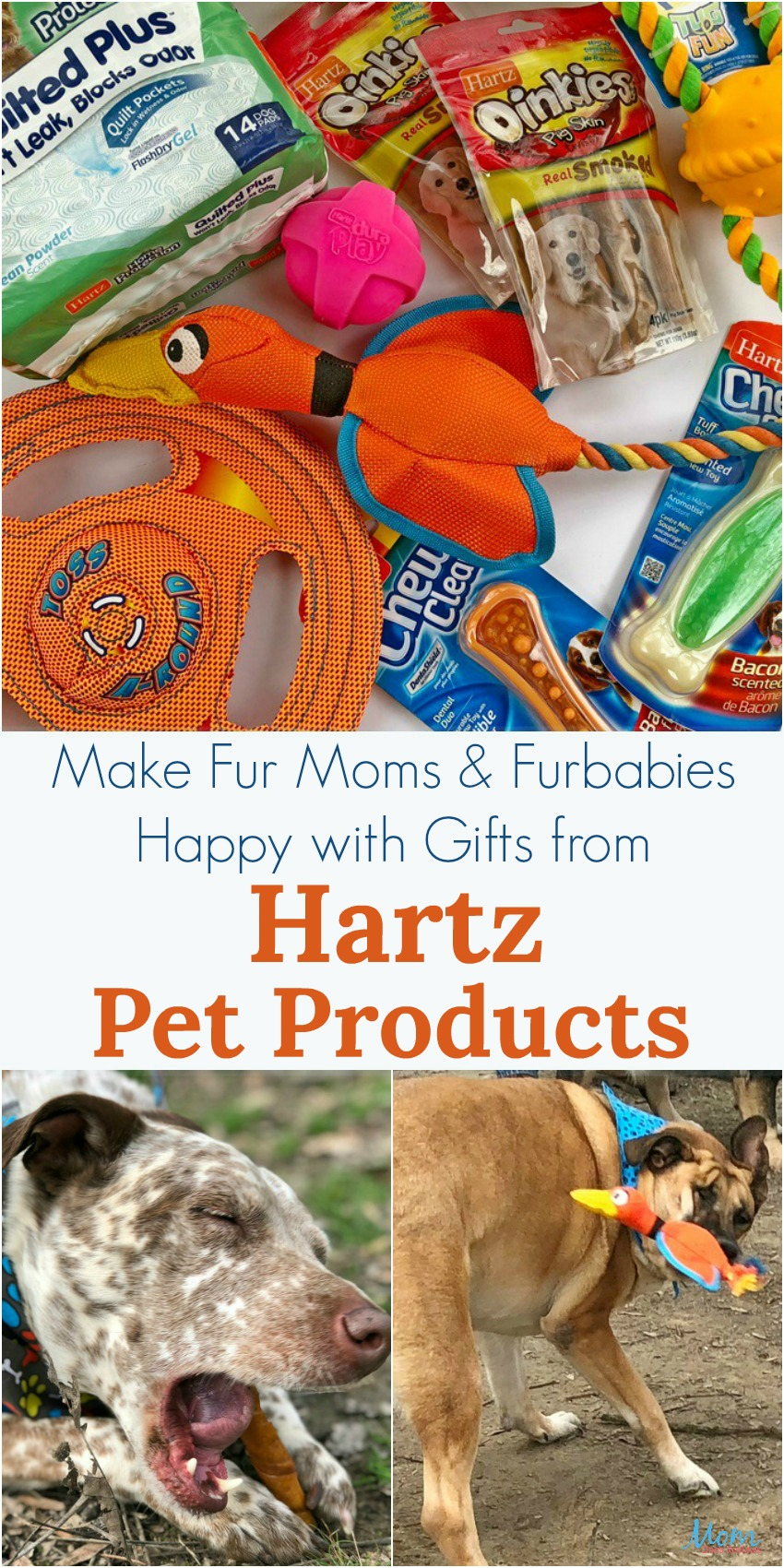 Make Fur Moms & Furbabies Happy with Gifts from Hartz Pet Products! #giftsformom18