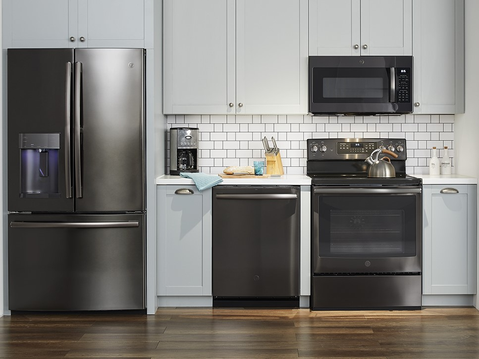 Ge Black Stainless Finish Our Finish Choice For Our