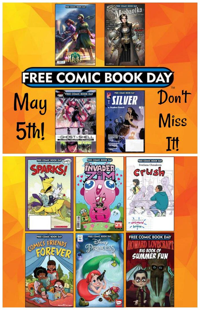 free comic book day #FCBD