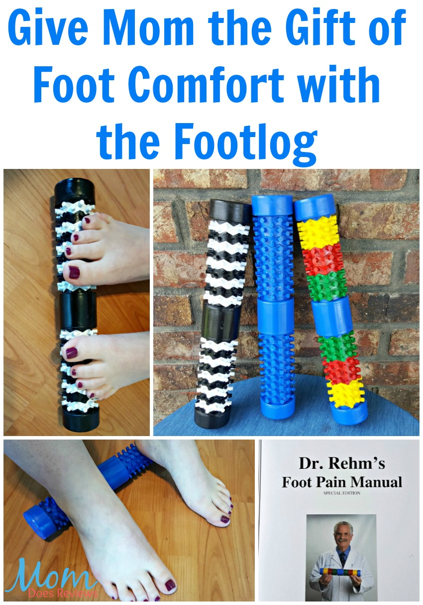 Give Mom the Gift of Foot Comfort with the Footlog