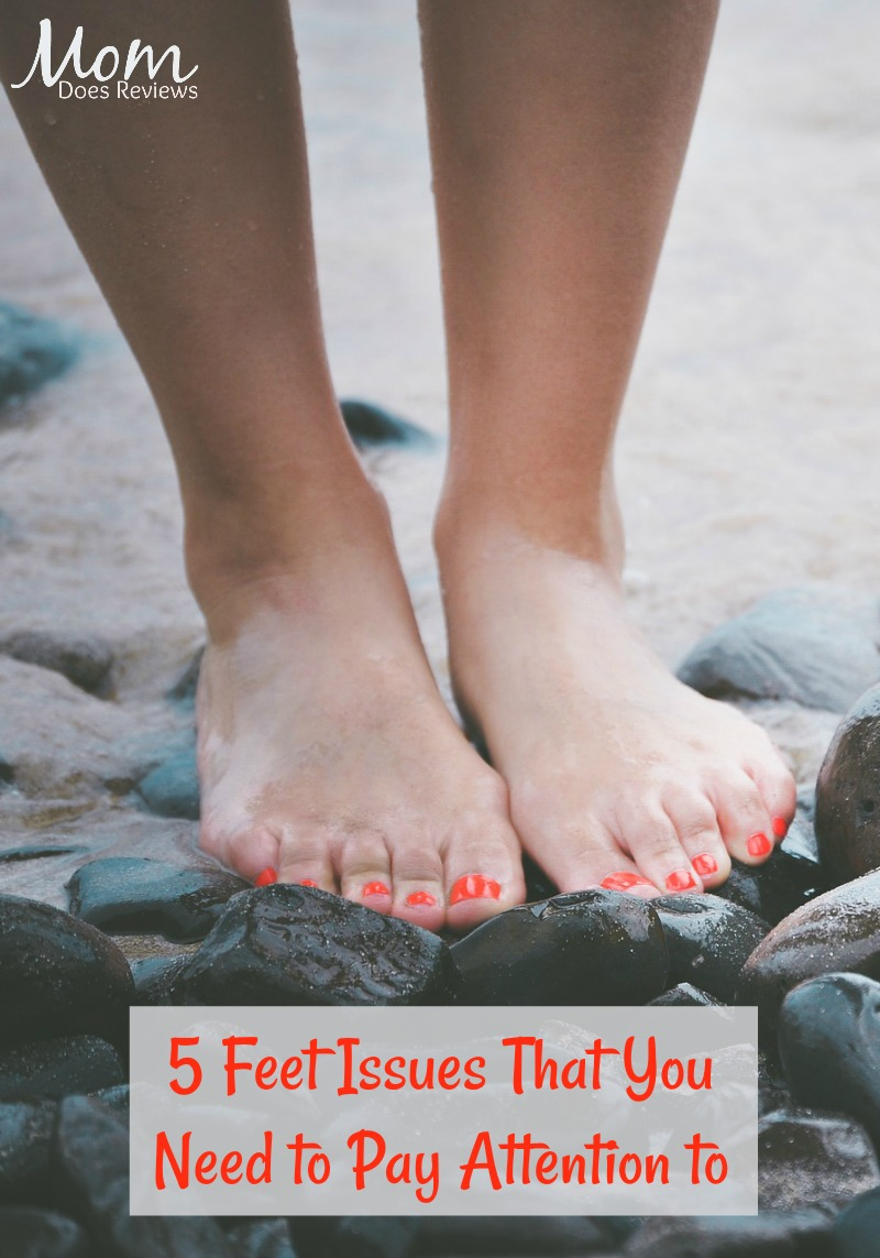 Healthy Feet: 5 Feet Issues That You Need to Pay Attention to