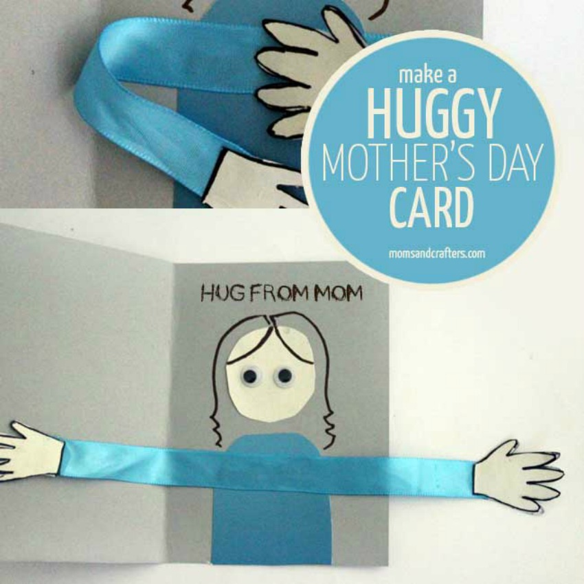 Make a Huggy Mother's Day Card Craft