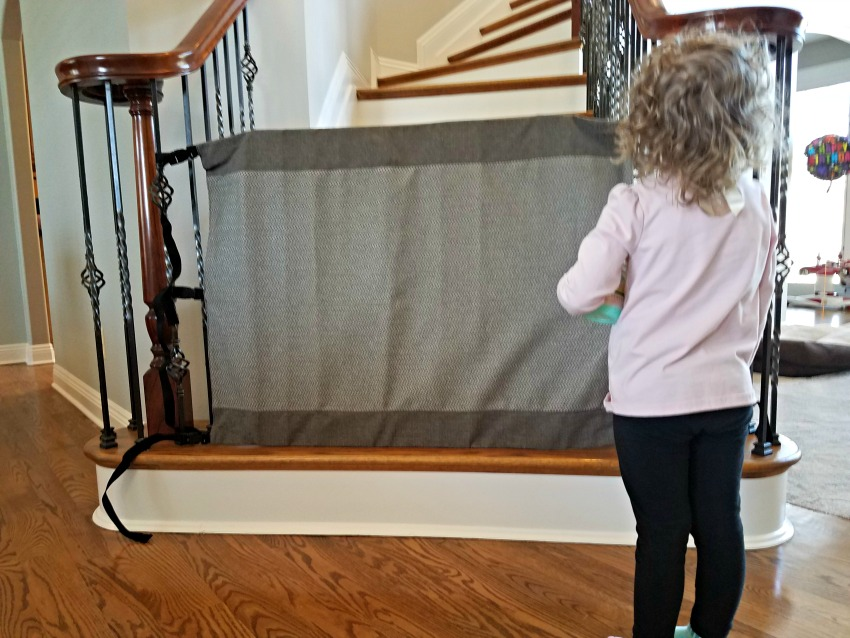 Protect Pets and Children with the Stair Barrier