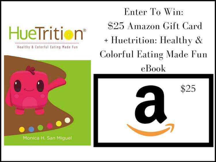 Win $25 amazon gc and HueNutrition book