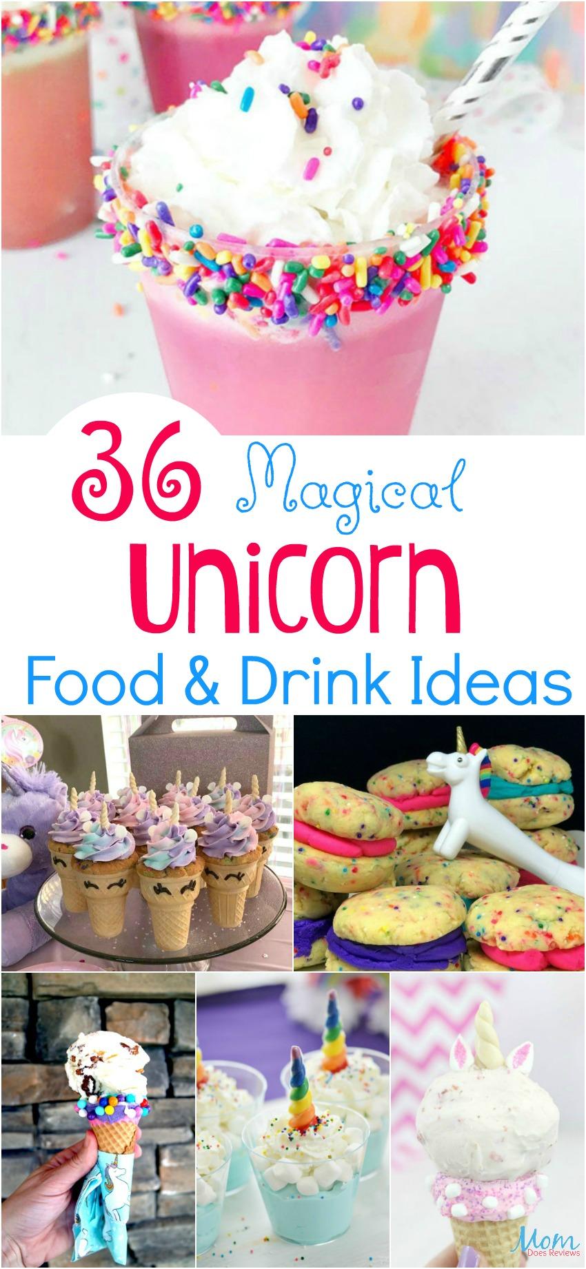 36 Magical Unicorn Food & Drink Ideas Guaranteed to Make You Smile