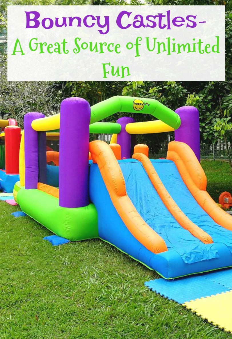Bouncy Castles- A Great Source of Unlimited Fun