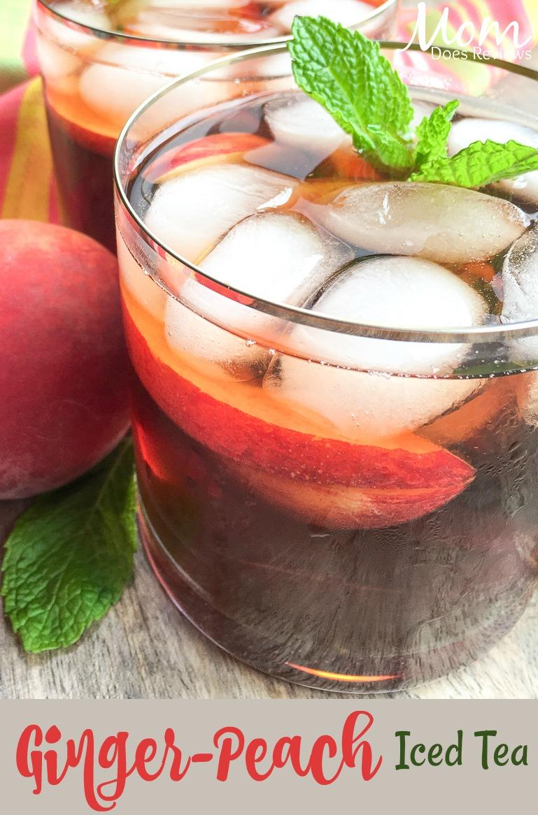 Ginger-Peach Iced Tea #instantpot #recipe