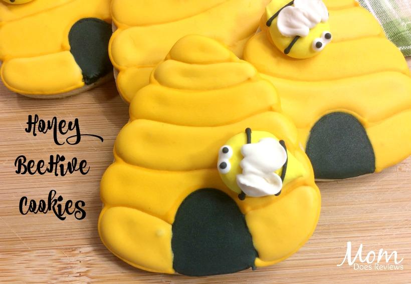 Honey BeeHive Cookies