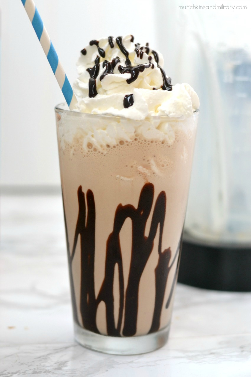Mocha Freeze Blended Coffee Recipe
