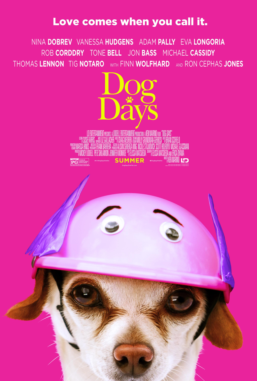 Dog Days Poster #dogdays