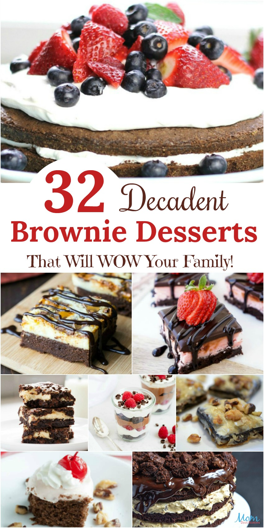32 Decadent Brownie Desserts That Will WOW Your Family