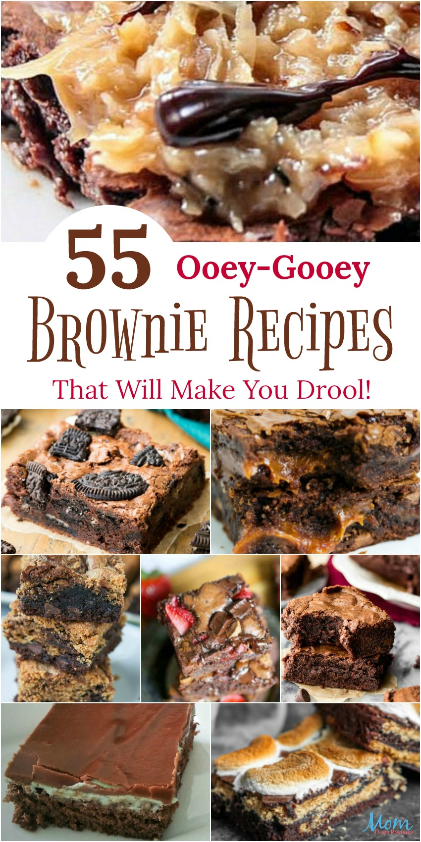 55 Ooey-Gooey Brownie Recipes That Will Make You Drool